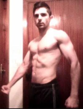 foto volumen muscular 65 kg