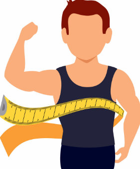 tomar medidas músculos