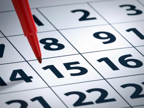 calendario mantenimiento cintas de correr-bicicleta estática