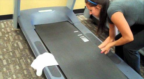 limpieza cinta de correr
