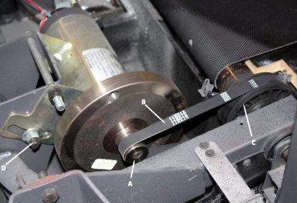 correa de transmisión - cinta de correr - mantenimiento