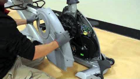 mantenimiento: quitar cubiertas bicicleta estática