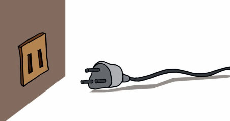 desenchufa la cinta de correr antes de limpiarla