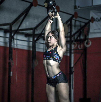 top crossfit chica xoomproject